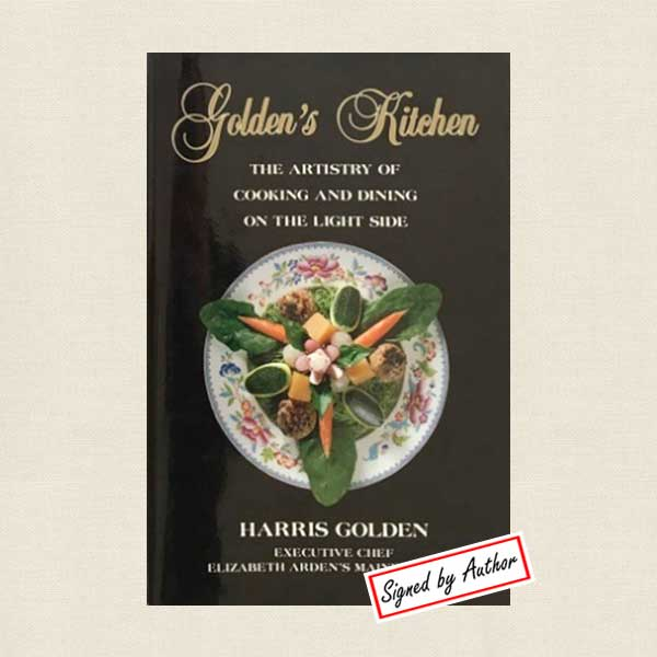 Golden's Kitchen Cookbook Main Chance Resort Phoenix - SIGNED