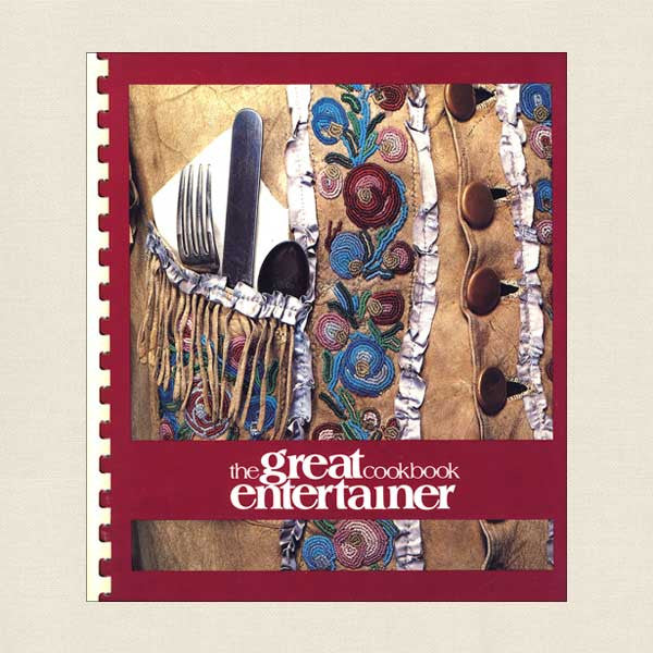 Great Entertainer Cookbook Buffalo Bill