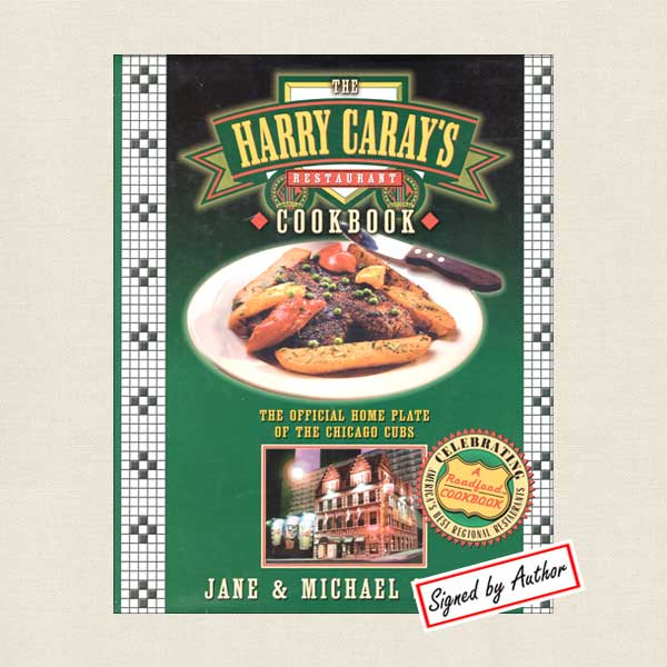 Haray Caray's Cookbook Signed Edition