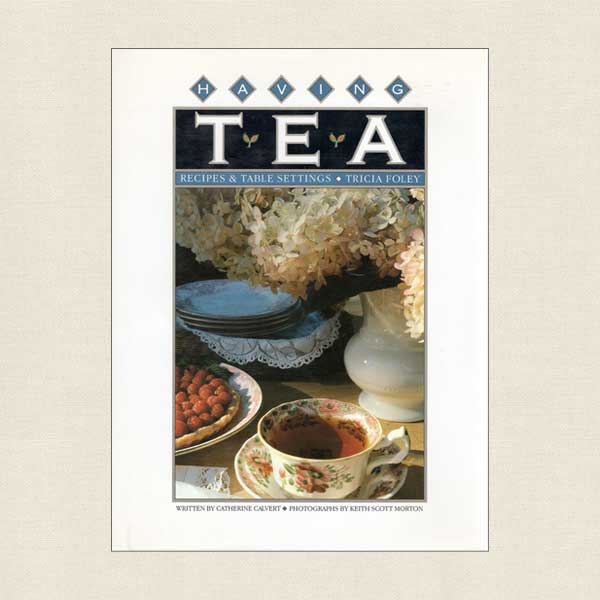 Having Tea Cookbook