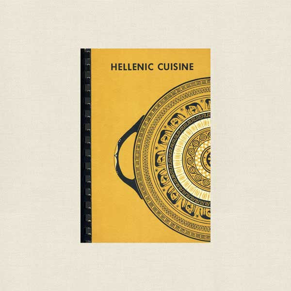 Hellenic Cuisine Greek Cookbook - St Helen Church Detroit