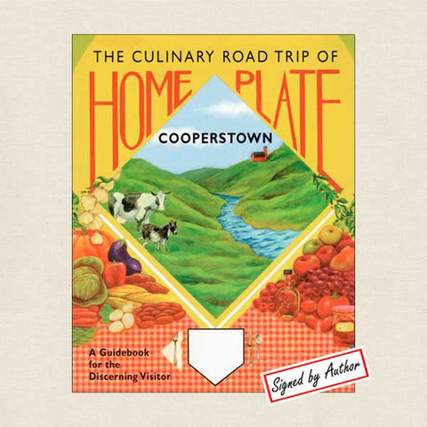 Home Plate Cooperstown - SIGNED