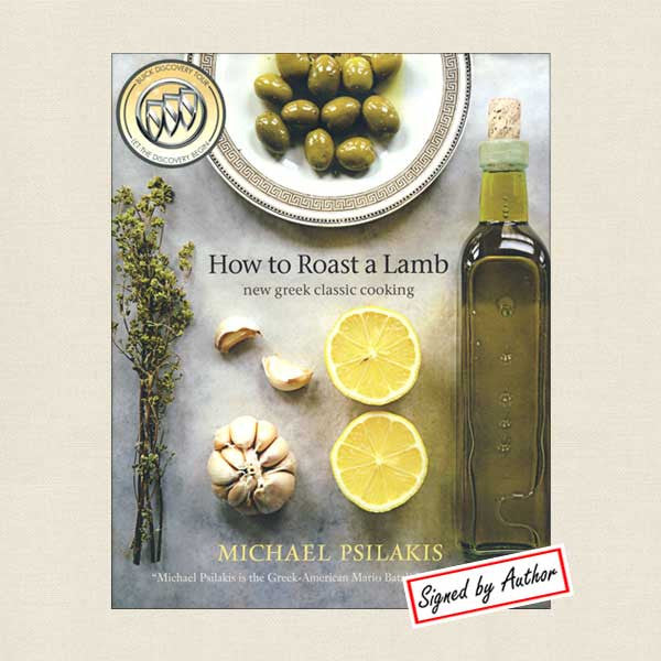 Michael Psilakis How to Roast a Lamb Greek Cookbook - Signed