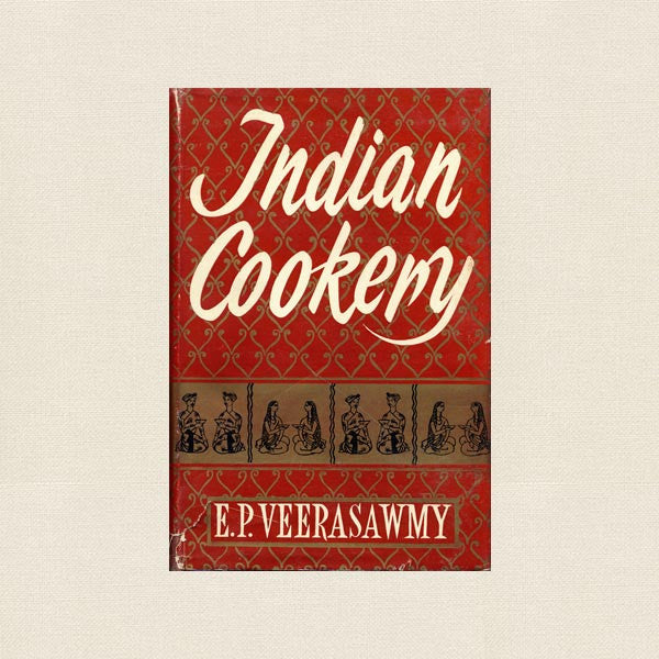 Indian Cookery - Vintage Cookbook 1953