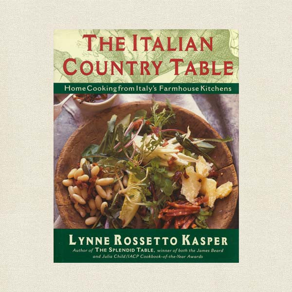 Italian Country Table Cookbook