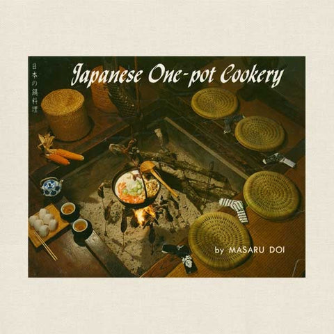 Japanese One Pot Cookery Cookbook