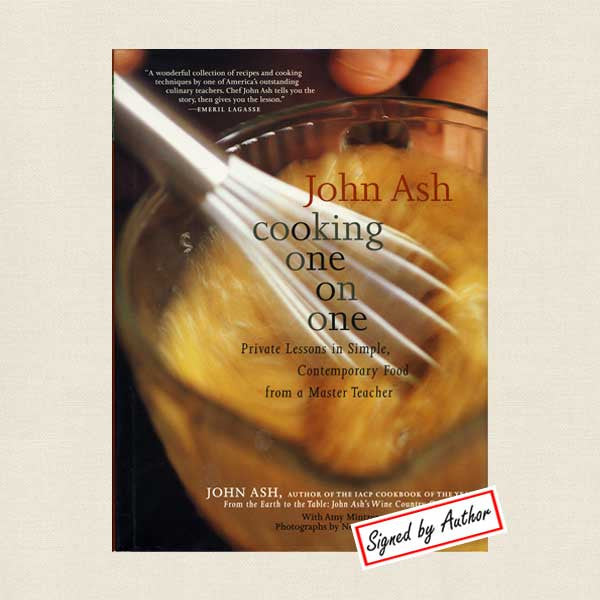 John Ash Cooking One On One: Signed Edition