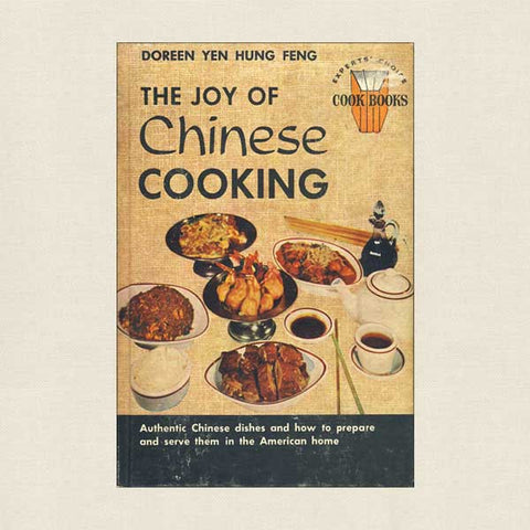 Joy of Chinese Cooking Cookbook