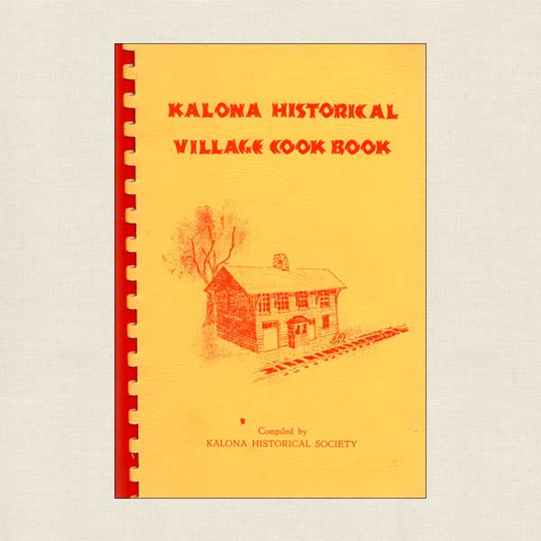 Kalona Historical Village Cookbook