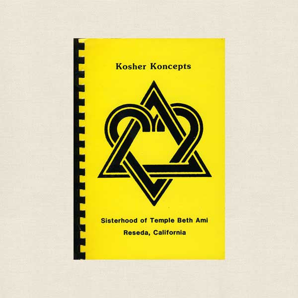 Temple Beth Ami Kosher Koncepts Cookbook - Reseda, California