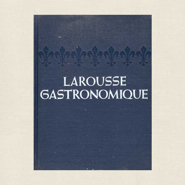 Larousse Gastronomique French Cookbook 1965