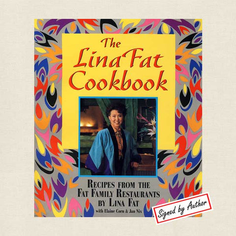 Lina Fat Cookbook Signed Edition