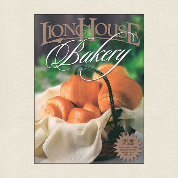 Lion House Bakery Cookbook & DVD