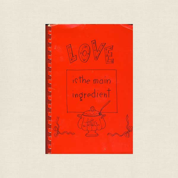 Temple Beth Torah Cookbook Alhambra - Love is the Main Ingredient