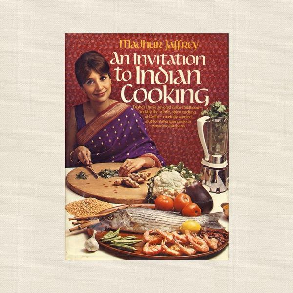 Madhur Jaffrey Cookbook - An Invitation to Indian Cooking