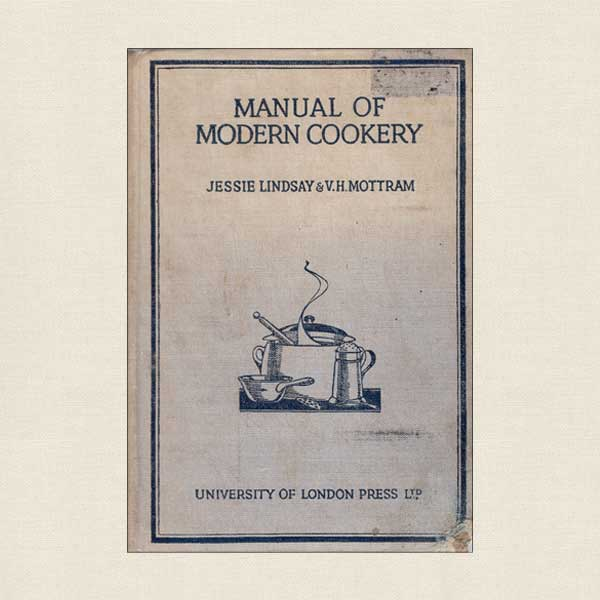 Manual of Modern Cookery - Vintage 1948
