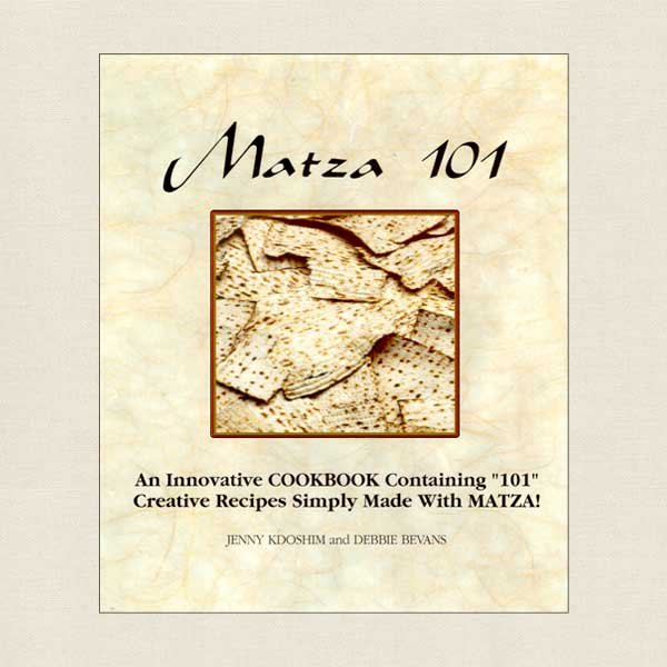 Matza 101 - Jewish Kosher Cookbook