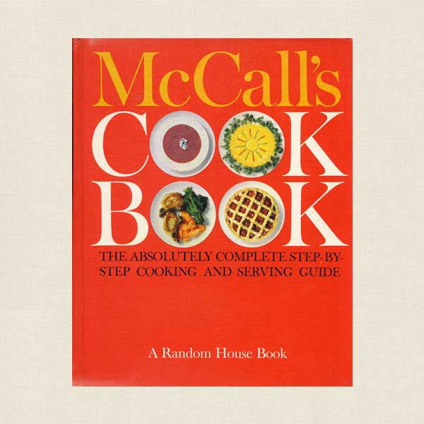 McCall's Cook Book - Red Cover Vintage 1963