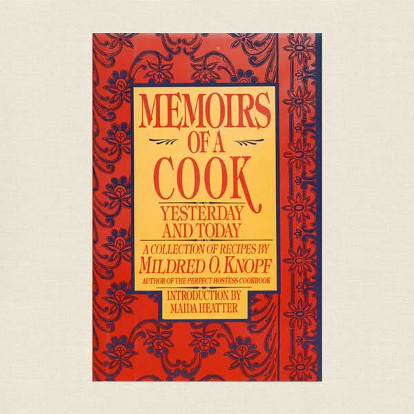 Memoirs of a Cook