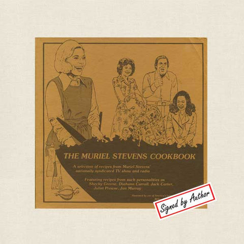 The Muriel Stevens Cookbook - SIGNED