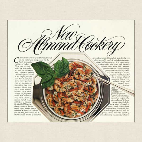 New Almond Cookery Cookbook