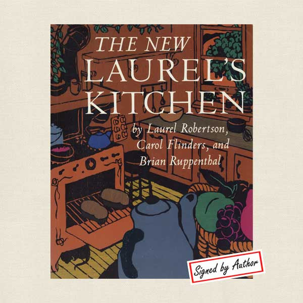 New Laurel's Kitchen Vegetarian Cookbook - Signed