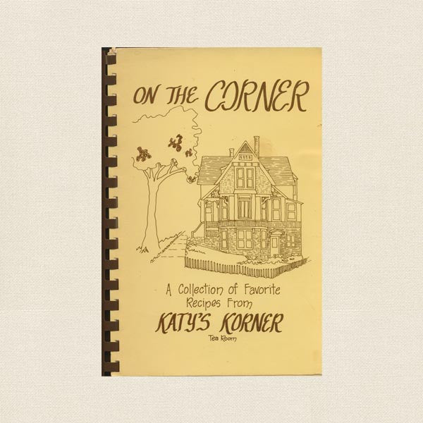 Katy's Korner Tea Room Autographed Cookbook Eureka Springs, Arkansas