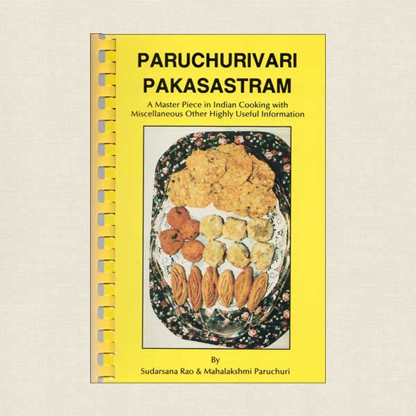 Master Piece in Indian Cooking Paruchurivari Pakasastram