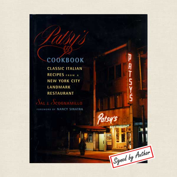 Patsy's Cookbook, Restaurant in New York