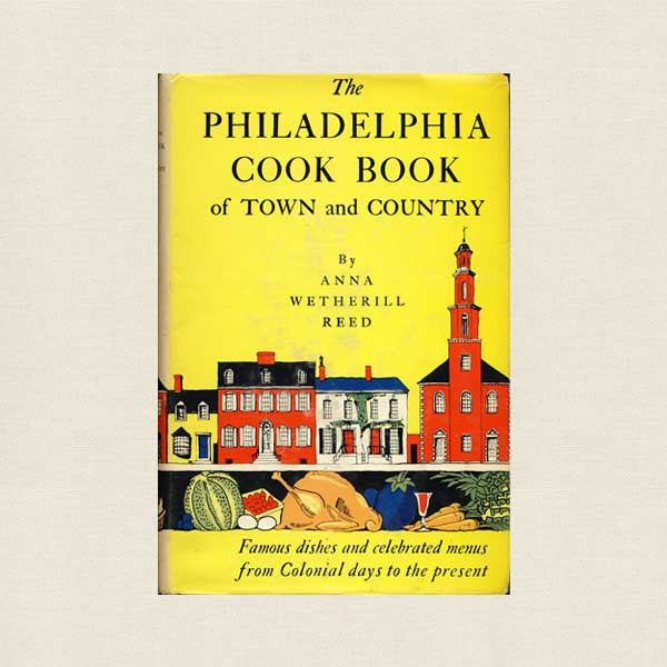 Philadelphia Cookbook of Town and Country - 1963