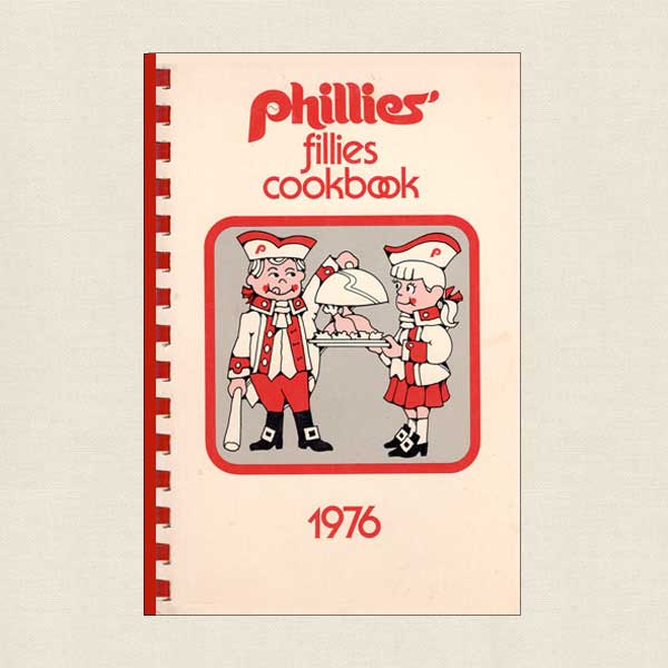 Philadelphia Phillies' Fillies MLB Cookbook Autographed