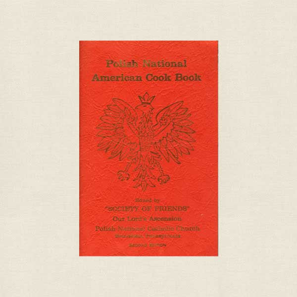 Polish National American Church Cookbook - Bethlehem Pennsylvania