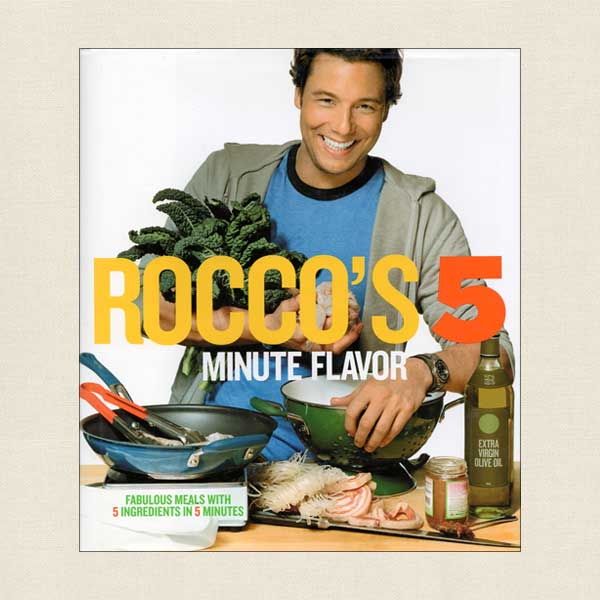 Rocco's 5 Minute Flavor Cookbook