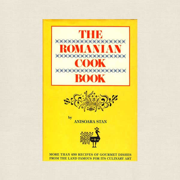 The Romanian Cookbook - Vintage