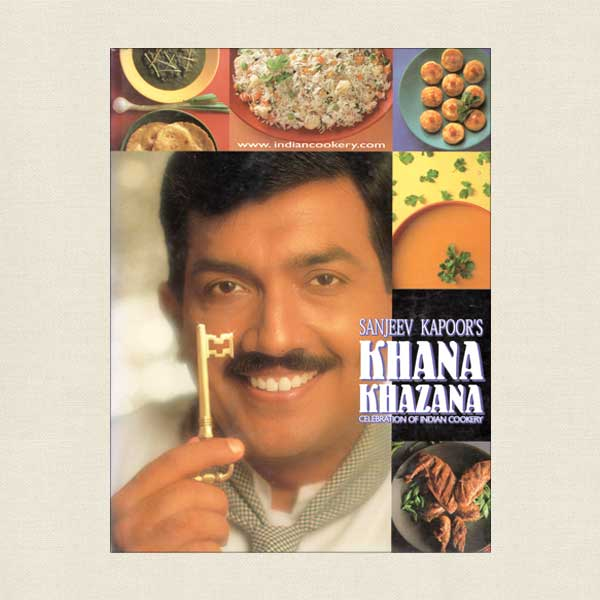 Sanjeev Kapoor's Khana Khazana Indian Cookbook