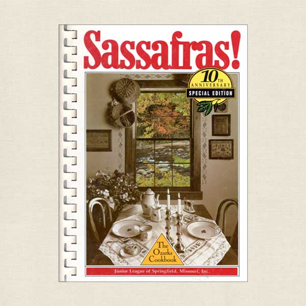 Junior League of Springfield Cookbook Sassafras