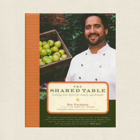 Shared Table Cookbook - Chef Don Pintabona