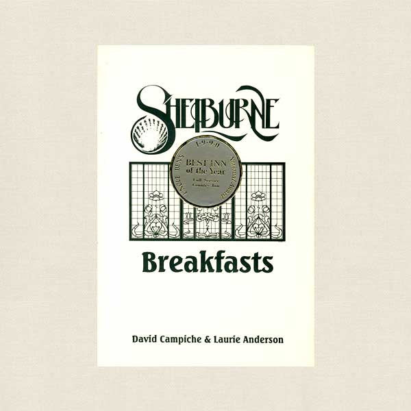 Shelburne Breakfasts Cookbook - Country Inn Seaview Washington