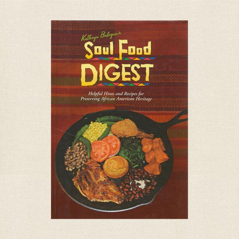 Soul Food Digest Cookbook - Signed