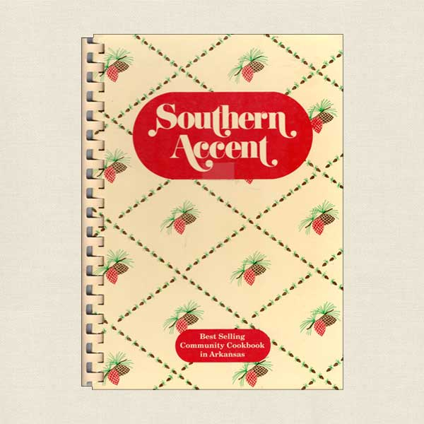 Junior League of Pine Bluff Arkansas Cookbook Southern Accent