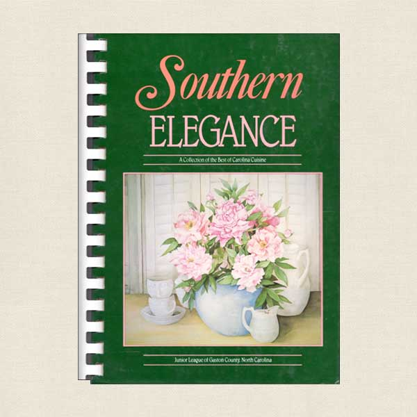 Southern Elegance Cookbook Junior League of Gaston County NC