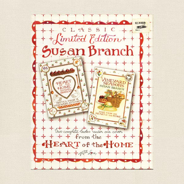 Susan Branch Cookbook - Heart of the Home and Vineyard Seasons
