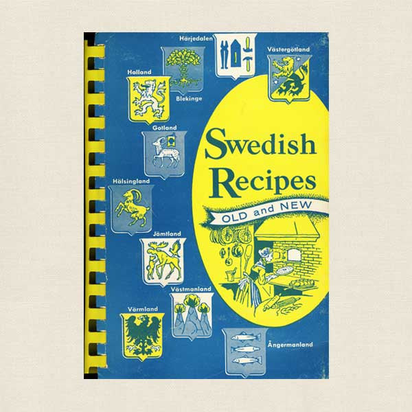 Swedish Recipes Old and New Cookbook - American Daughters Chicago