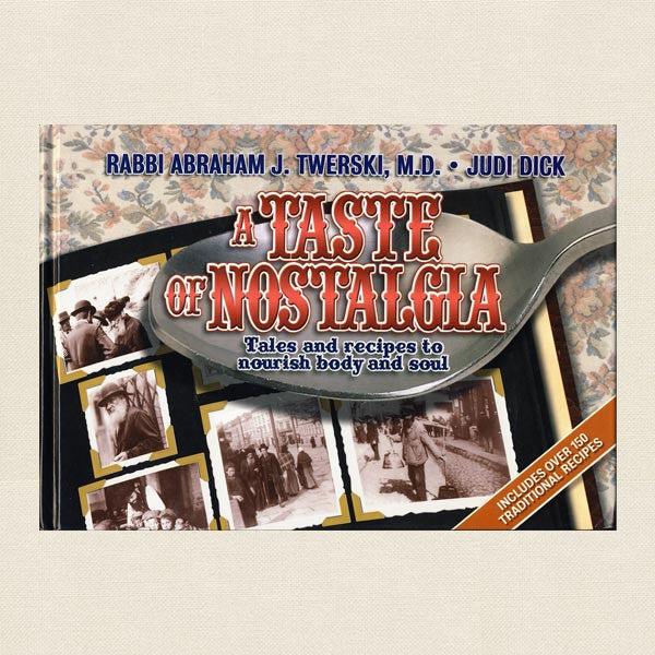 Taste of  Nostalgia Jewish Cookbook