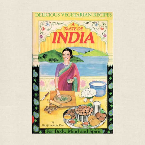 Taste of India - Delicious Vegetarian Recipes