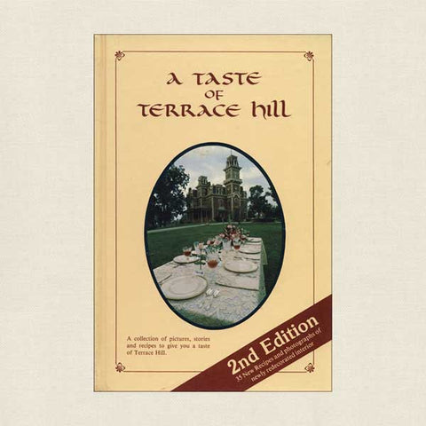 A Taste of Terrace Hill Cookbook Des Moines, Iowa