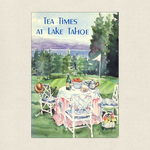 Tea Times at Lake Tahoe: The Incline Village Golf Club