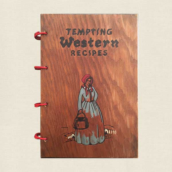 Tempting Western Recipes Vintage Cookbook