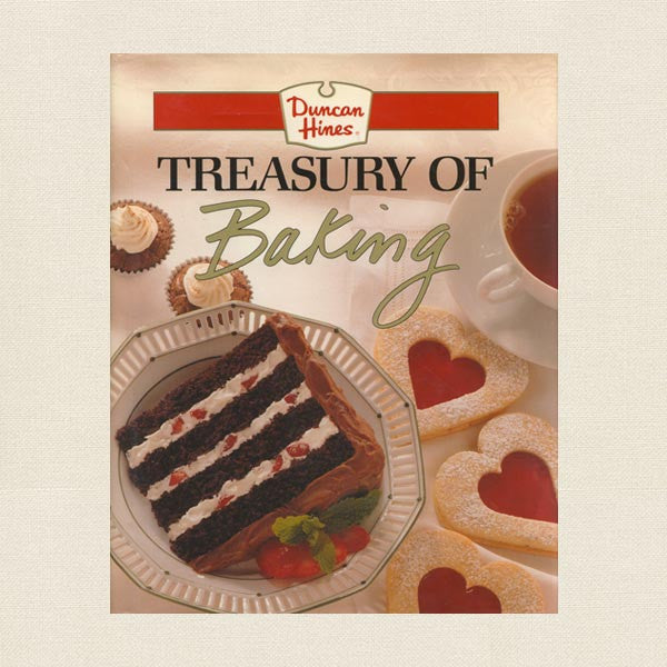 Treasury of Baking - Duncan Hines Cookbook