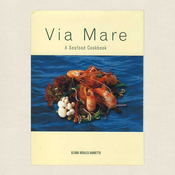 Via Mare Seafood Cookbook - Manila Restaurant Philippines